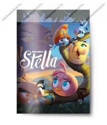 Angry Birds Girls Stella 1. osztályos vonalas füzet (A5/14-32)