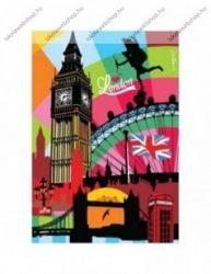 City - London gumis mappa,  A/4