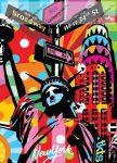 City - New York gumis mappa,  A/4