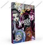 Monster High füzetbox P+P, A/4