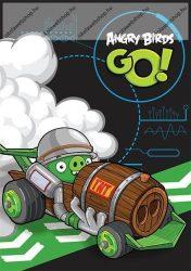 Angry Birds Go 2. osztályos vonalas füzet, A/5 (16-32)