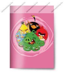 Angry Birds szótárfüzet, pink, A5/31-32