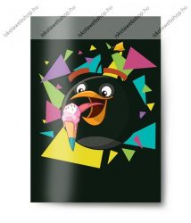 Angry Birds hangjegyfüzet, black, A4/36-32