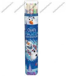 Színesceruza henger tartóban, OLAF
