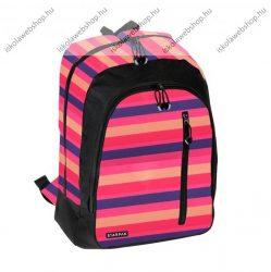 SANDY pink lila-rózsaszín 2 rekeszes hátizsák - STARPAK