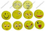 Smile 4 db-os kerek mini radír csomag, 4 db/csomag