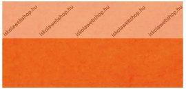 Cre Art puha filclap A/4, narancssárga, neon