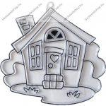 Fényvarázsforma, kicsi ház