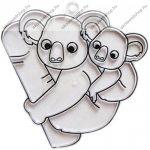 Fényvarázsforma, kicsi koala