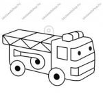 Fényvarázsforma, kicsi autó-tűzoltó