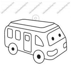 Fényvarázsforma, kicsi Autós-busz