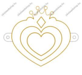 Fényvarázsforma, kicsi szív