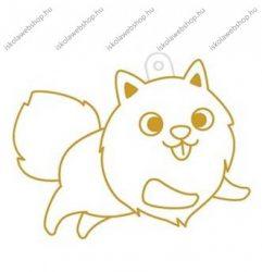 Fényvarázsforma, kicsi kutya-pomerániai törpespicc
