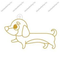Fényvarázsforma, kicsi kutya-tacskó