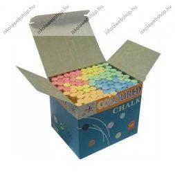 School Art színes hengeres táblakréta, 1x8 cm, 100 db/doboz