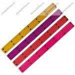 30 cm School Art flexibilis Pink vonalzó (cm beosztással)
