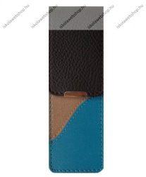 John Gabriel bőr patentos tolltok 5 cm széles, Szivárvány kollekció, BLUETTE