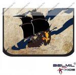 Belmil kihajtható tolltartó, Autós/Pirates/Kalózos/Hajós