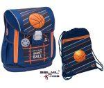 Belmil Customize-Me Champion/Kosárlabdás iskolatáska + sportzsák szett