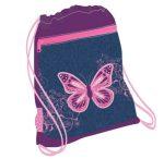 Belmil hálós és zsebes tornazsák, Purple Flying Butterfly - Belmil