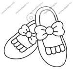 Fényvarázsforma, kicsi Balerina cipő