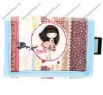 Anekke Patchwork tépőzáras pénztárca,12x1x8 cm