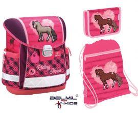 Belmil Classy Riding Horse/Lovas iskolatáska szett