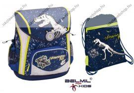 Belmil Cool Bag Dino/T-Rex/Tyranosaurus Rex szett (iskolatáska + sportszák)