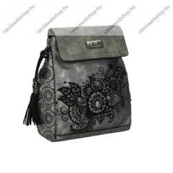 Kimmidoll Backpack/nyeregtáska, oldaltáska, válltáska, Grey, 20x6x28 cm (29615-01GRE)