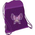 Belmil hálós és zsebes tornazsák, Colorful/Butterfly/Pillangó