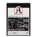 Vázlatfüzet fekete papírral, A/4, 40 lap, 150 g