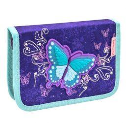 Belmil kihajtható tolltartó, Butterfly/Pillangós - Spring Time