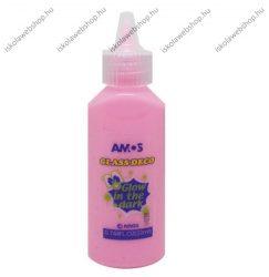 Üvegmatricafesték, foszforeszkáló pink (22 ml)