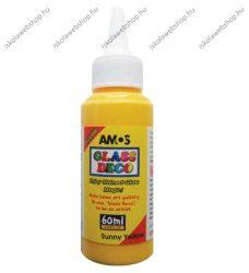 Üvegmatricafesték, Sárga (60 ml)