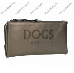 Dogs by Beluchi pénztárca, Beige, Patentos-Cipzáras, 20X2X10 cm (29389-06Bei)