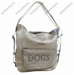 Dogs by beluchi Táska, Bézs, Backpack, Kétfunkciós, 30X6X32 cm (29385-01Bei)