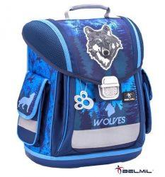 Belmil Sporty Mountain Wolf/Farkasos iskolatáska (404-5)