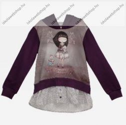 Anekke gyermek kapucnis pulóver, 5-6 év (RH6147)