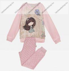 Anekke gyermek pizsama szett, világosrózsaszín, 7-8 év (RH7469)