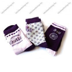 Anekke gyermek textil bokazokni, 27-30 méret