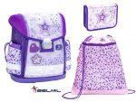 Belmil Classy Shining Star Purple iskolatáska szett (403-13)