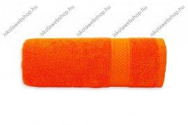 Egyszínű törölköző, Narancs, 30x50 cm
