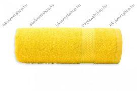Egyszínű törölköző, Sárga, 30x50 cm