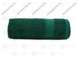 Egyszínű törölköző, Zöld, 30x50 cm