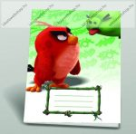 Angry Birds Movie red A/5 sima füzet