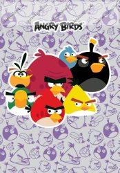 Angry Birds hangjegyfüzet (vegyes minta), A4/86-32
