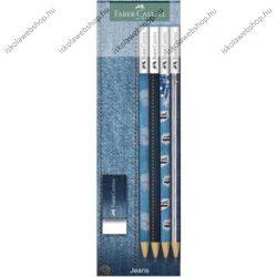 Faber-Castell grafitceruza készlet radírral, Farmer