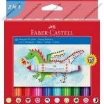 Faber-Castell bélyegzős filctoll, 10 db