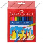 Faber-Castell filctoll, 12 db