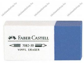 Faber-Castell fehér/kék radír